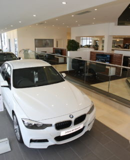 BMW showroom
