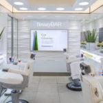 clarins beauty bar