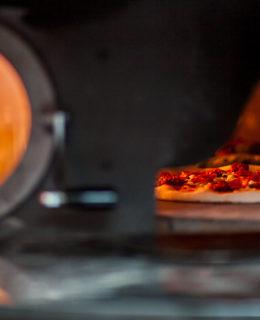 charcoal pizza