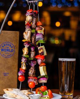 indulgence at around the world bar