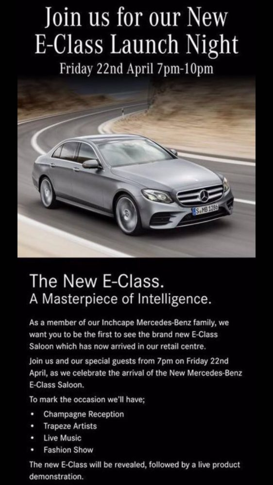 about the new mercedes