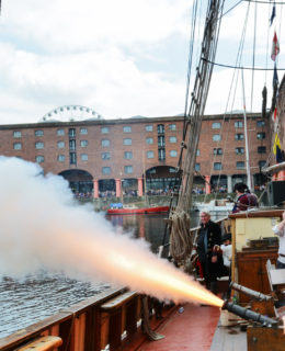 Pirate Festival at the Albert Dock