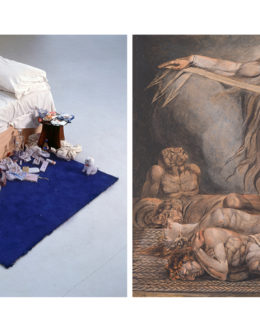 artists tracey emin and william blake at tate liverpool