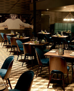 Marco Pierre White restaurant relaunch (Liverpool)