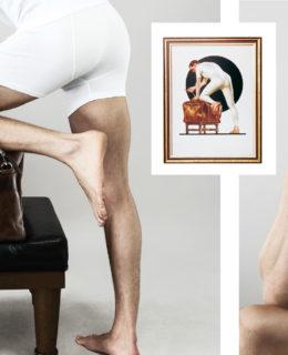 Jockey, male underwear models