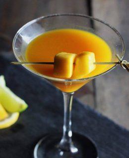 A delicious summer cocktail at Fazenda