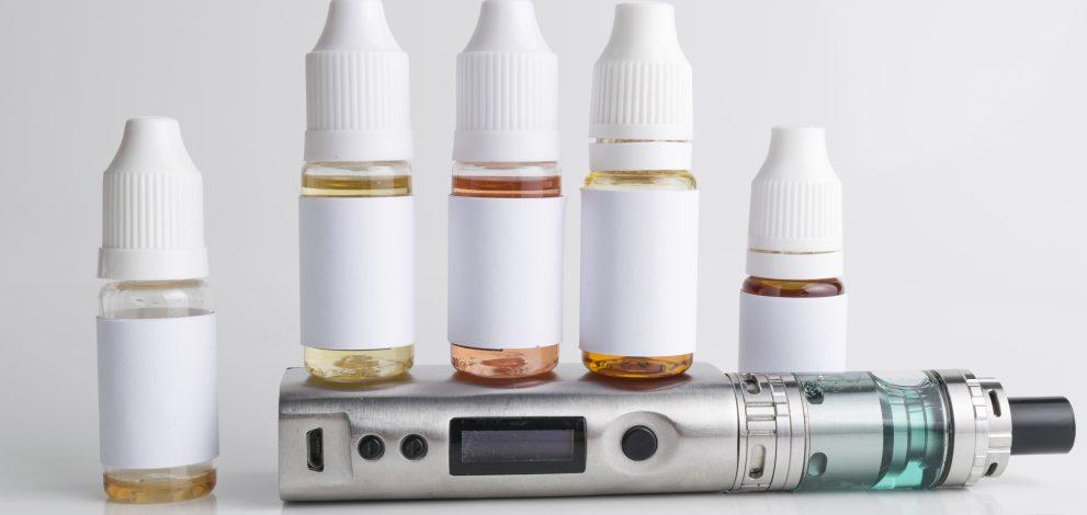 E-liquids toolkit, including cartridges