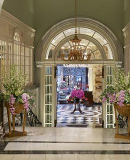 A view from within the Savoy, where you can book the Churchill experience this summer