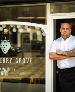 Food & Drink: new chef, Andy, at Blackberry Grove