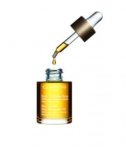 Our Beauty Buy of the Week: Blue Orchid Oil (pictured with the bottle open)