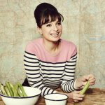 Gizzi Erskine (pictured preparing food)