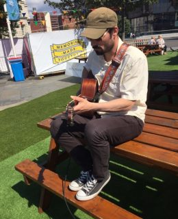 Celebrating new music at the Pier Head Village