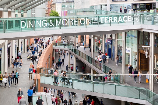 The Liverpool ONE Shopping Centre