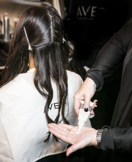 An Aveda image to illustrate the Aveda Blow-Dry Bar