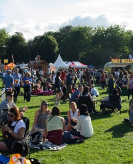 Foodies at the Liverpool Food & Drink Festival