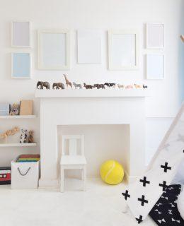 Minimalist children's bedroom inspiration