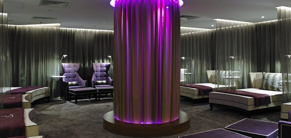 Relax in the Spa Relaxation Suite, pictured