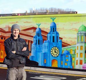 liverpool shopping park artwork