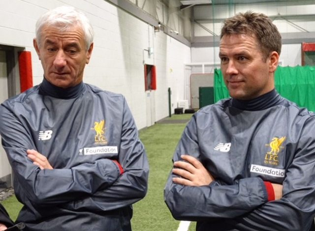 Legendary players Ian Rush & Michael Owen