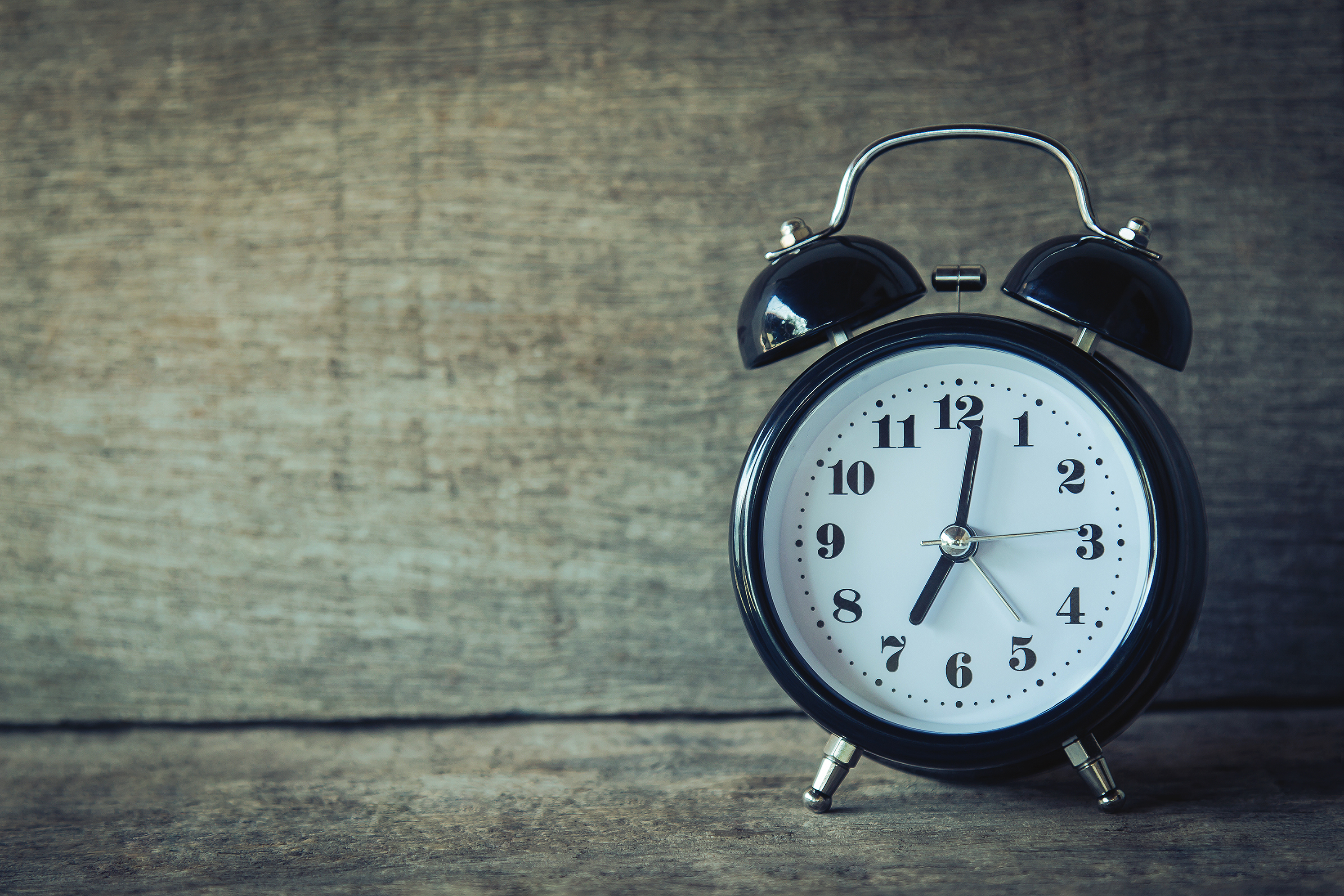 Timekeeping: New Year's Resolutions