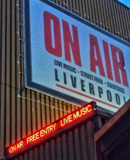 On Air, new North West music venue
