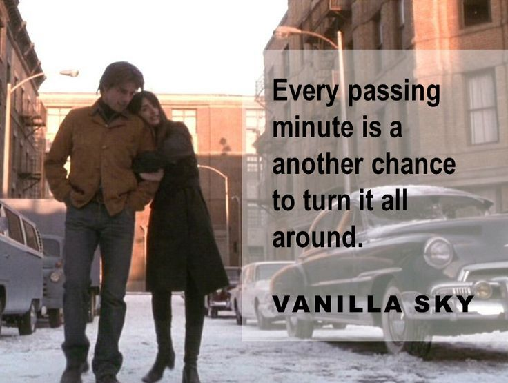 Image from Vanilla Sky for a feature on relaxation tips 1