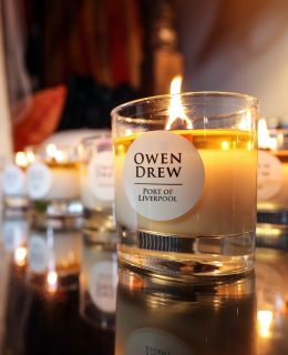 Owen Drew Port of Liverpool candle