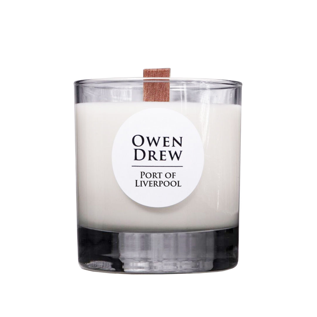 Owen Drew Port of Liverpool candle 1