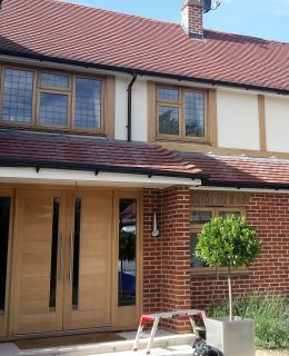 cleaning your gutters with roofline