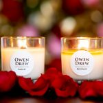 Valentine's candle