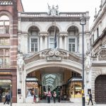luxury shopping arcade