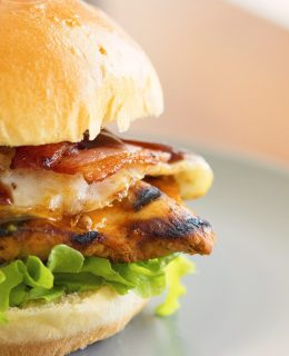 barbecue burger