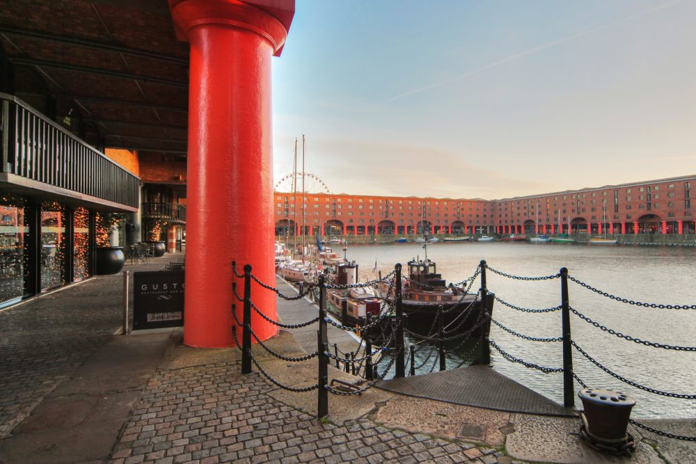 National Burger Day at the Albert Dock