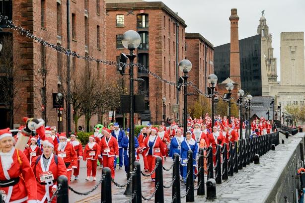 Liverpool Santa Dash
