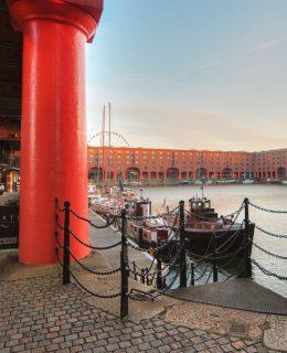 love at the Albert Dock
