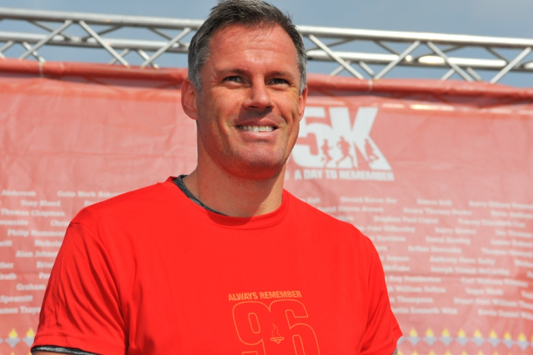 Fun run 2. Jamie Carragher pictured by Paul Francis Cooper
