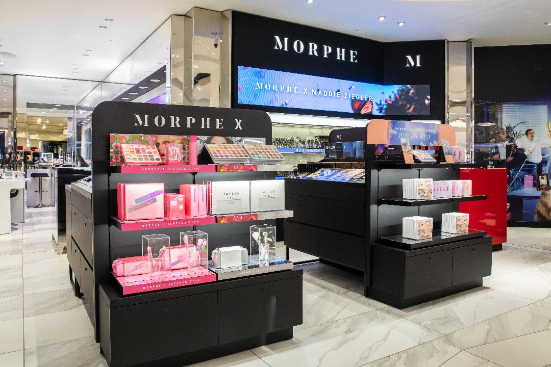 Selfridges Trafford Centre Morphe Into A Fabulous Beauty Routine Shop today and receive tomorrow! selfridges trafford centre morphe