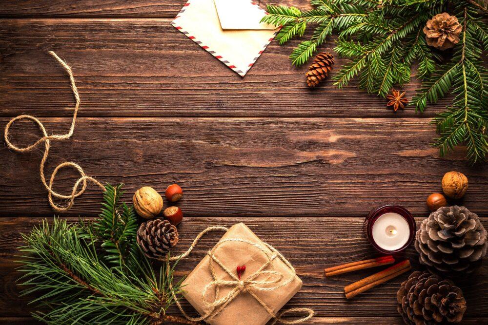 Christmas gift & card