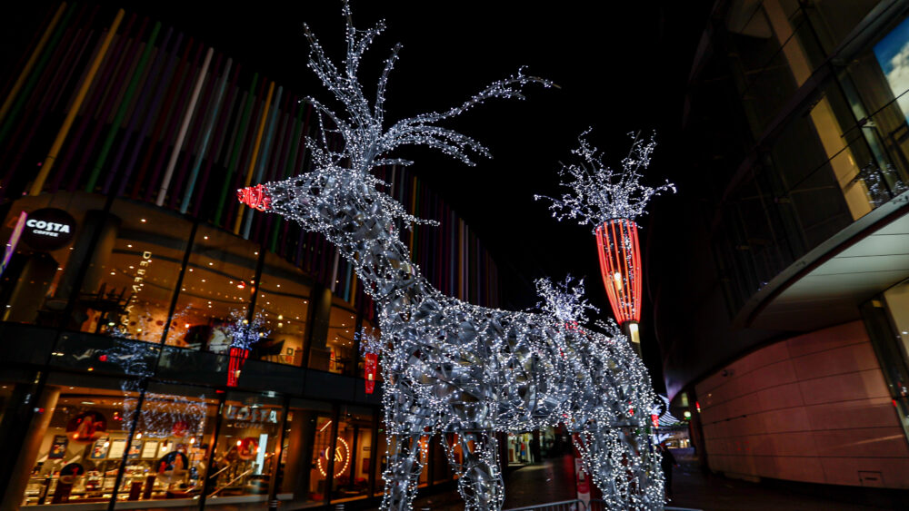 Liverpool ONE reindeer