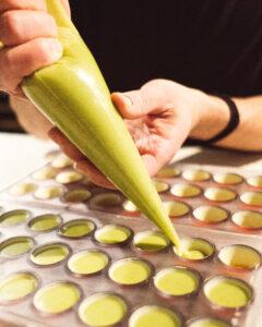 creating the perfect chocolate bon bons